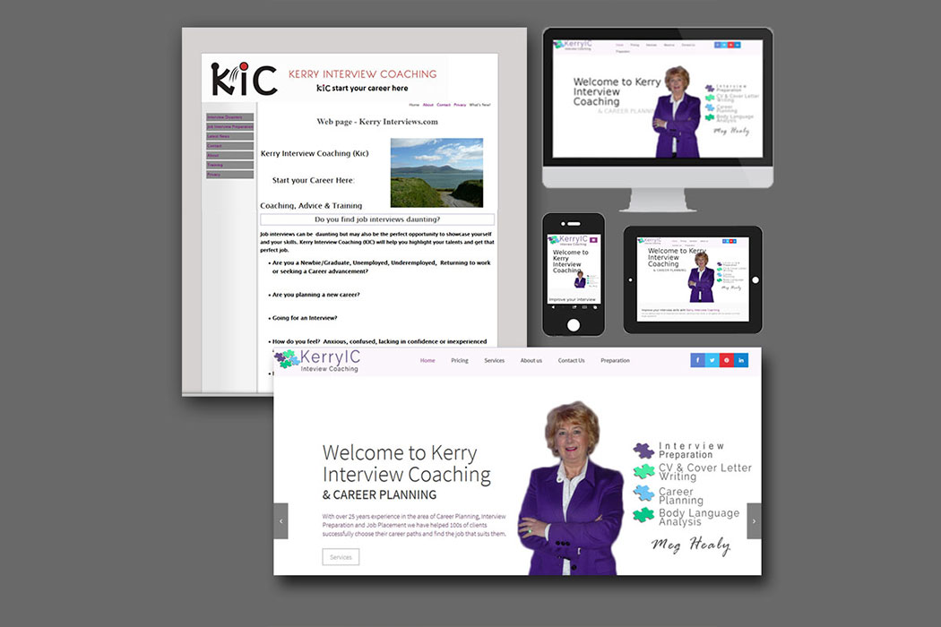 Kerry Interview Coaching Website Images